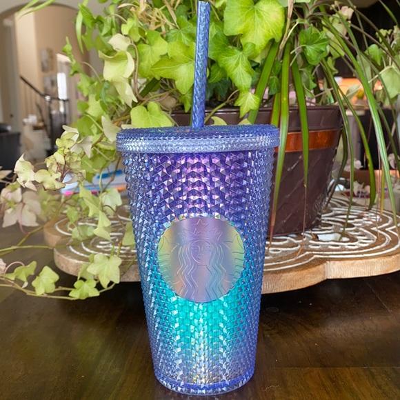 Starbucks Blue Ombré Studded Grande Cup